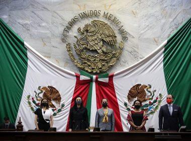 Con 40 votos a favor, las y los diputados locales eligieron a Adriana Hernández Íñiguez como Presidenta de la Mesa Directiva del Congreso de Michoacán