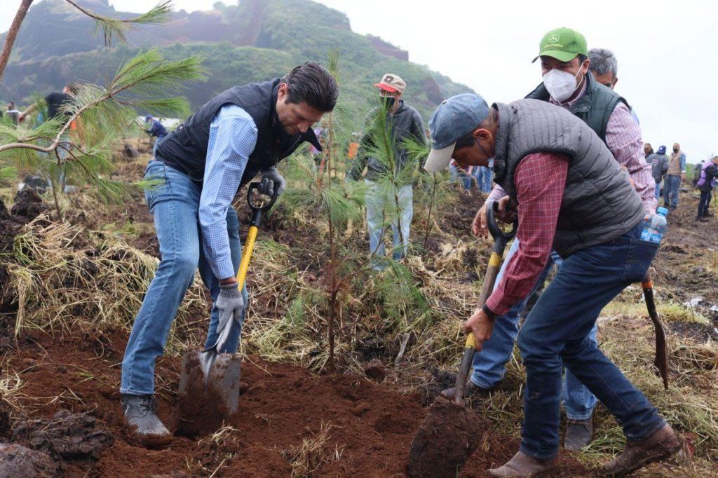 """Arranca el programa de reforestación """"Morelia Brilla"""""""