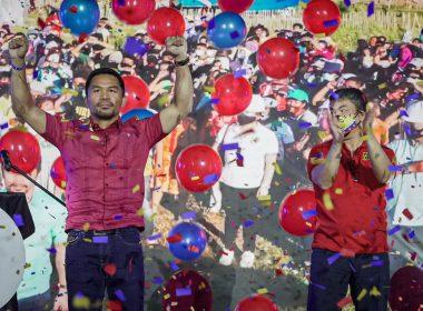 Buscará la presidencia Manny Pacquiao