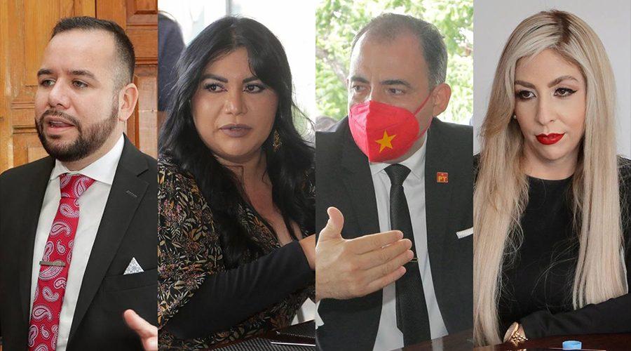 Diputadas y diputados del PT acudieron