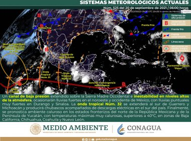 El clima de este lunes para el territorio mexicano
