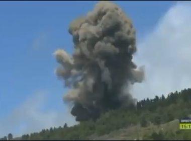 Hace erupción el volcán de la Cumbre Vieja en La Palma