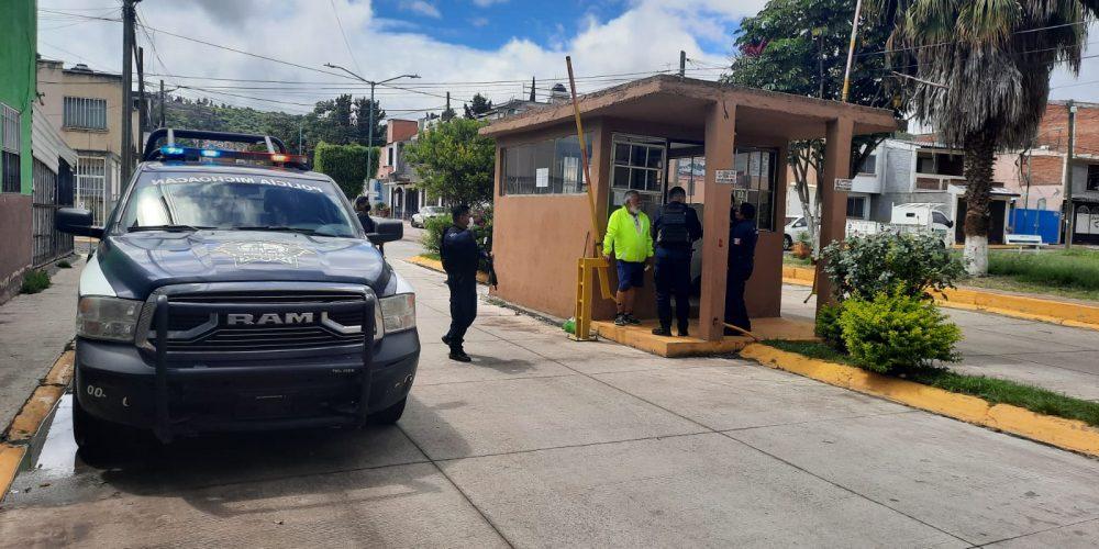 Inicia reactivación de casetas de vigilancia policiaca en fraccionamientos de Tarímbaro