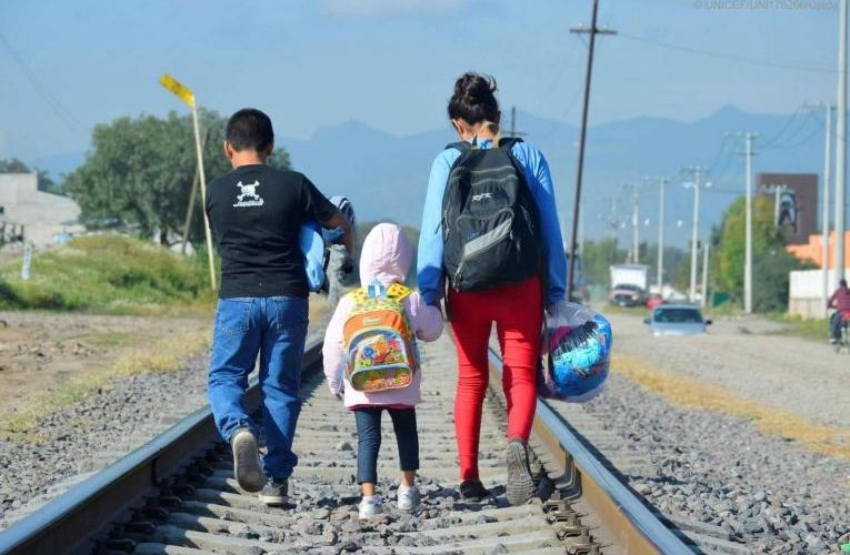 Llaman a México a proteger niños migrantes