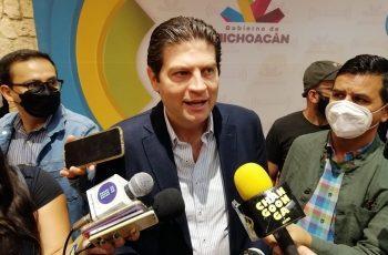 eventos masivos en la capital michoacana Alfonso Martínez
