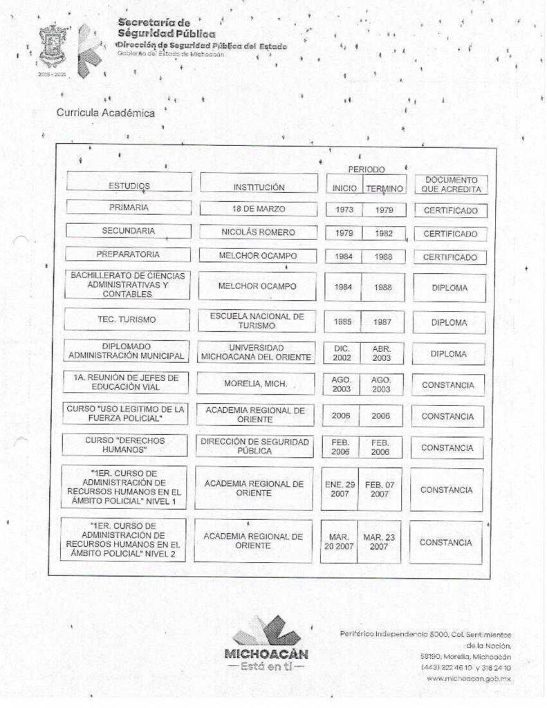 Tránsito SSP corrupción Silvano