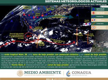 Meteorológico general para el día de hoy jueves