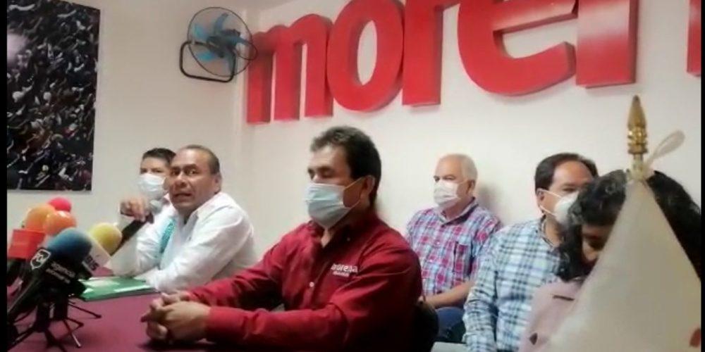 No vamos a someternos a la voluntad del gobernador: Morena