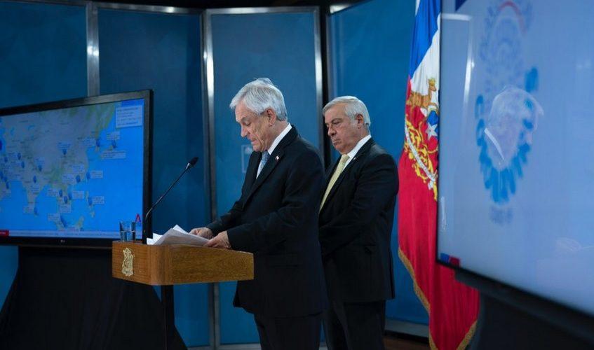 Presentan juicio político contra Piñera por Pandora Papers