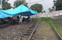 Se cumplen 100 días de bloqueo en vías férreas
