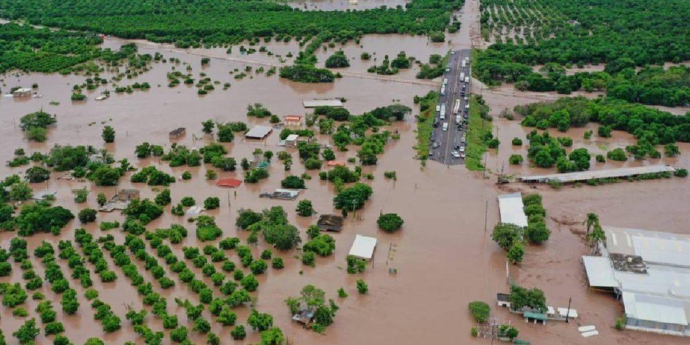 Solicita Nayarit ayuda humanitaria por inundaciones