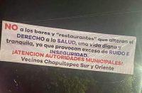 Vecinos de las colonias Chapultepec, exigen regulación de antros en dicha zona