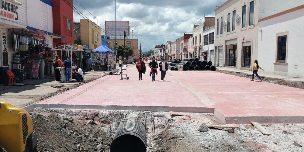 Ya casi termina obra en Lázaro Cárdenas, cuenta con un avance del 80%