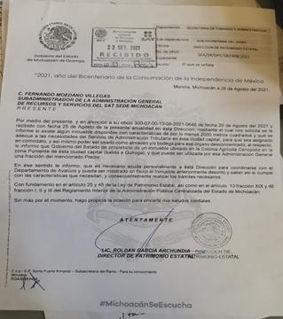 despojo desvío Cobaem Silvano