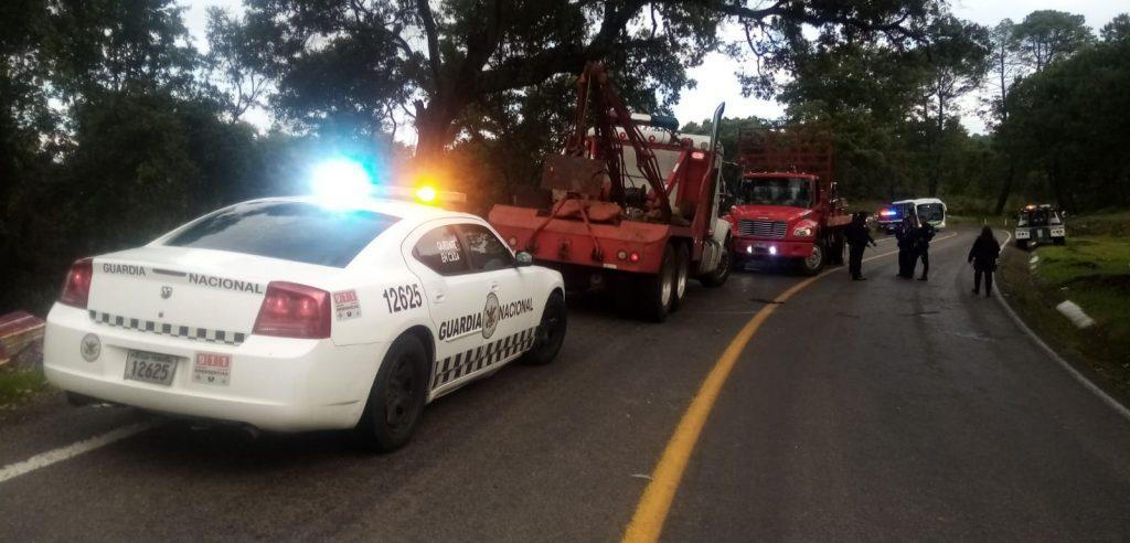 robo camión grúas policía Quiroga
