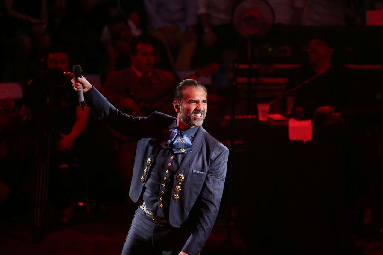 Alejandro Fernández tendrá concierto en febrero en Morelia