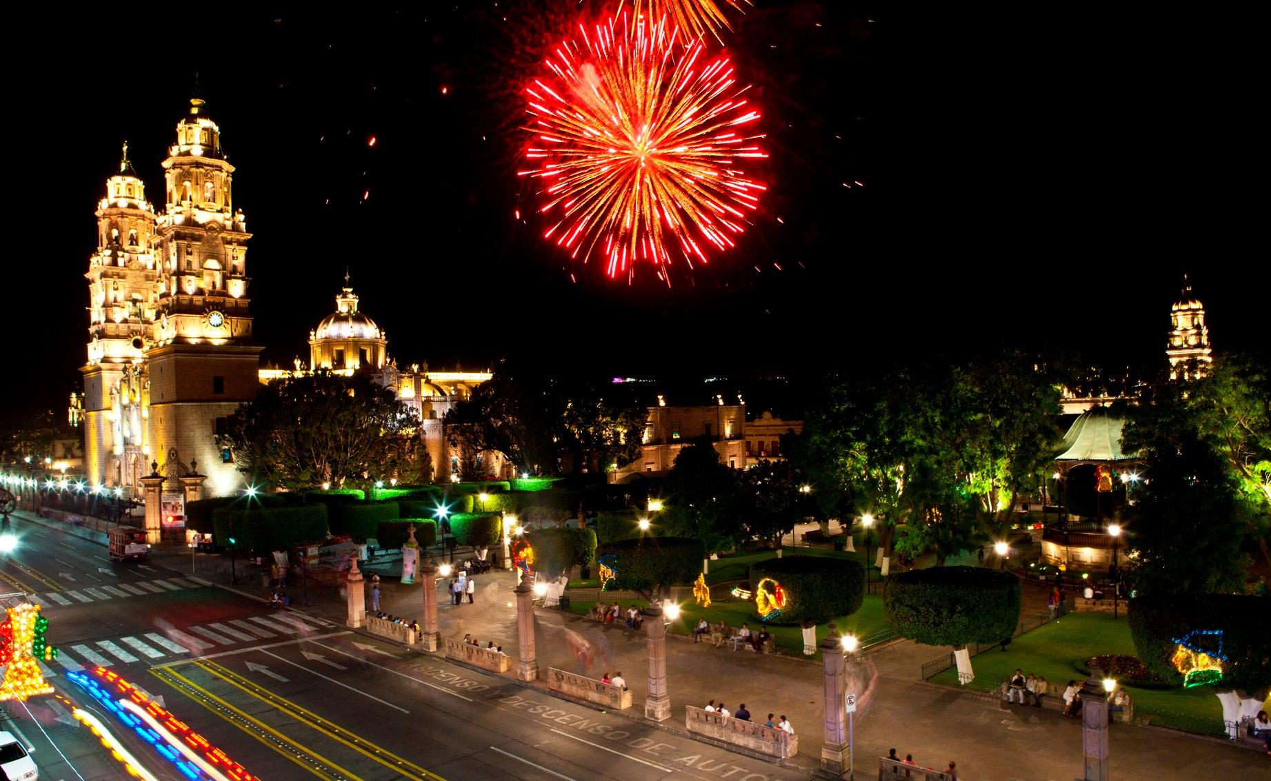 Resultado de imagen para año nuevo en MORELIA